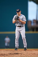 Lakeland Flying Tigers starting pitcher Artie Lewicki (34) gets ready to deliver a pitch during a game against the Bradenton Marauders on April 16, 2016 at McKechnie Field in Bradenton, Florida.  Lakeland defeated Bradenton 7-4.  (Mike Janes/Four Seam Images)