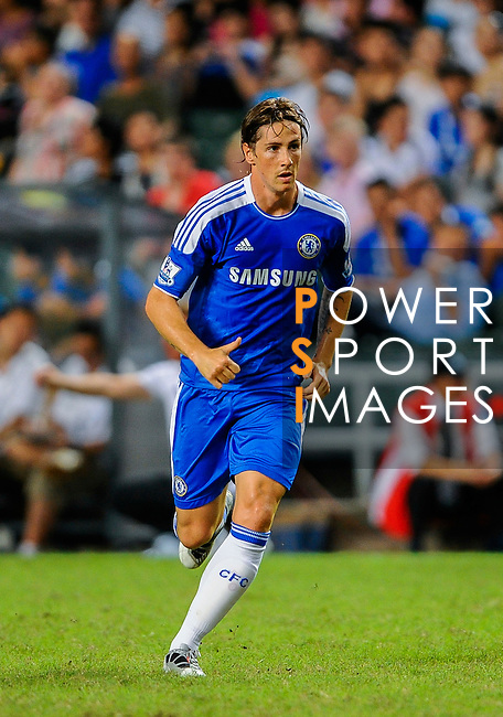 Fernando Torres of Chelsea in action during the Asia Trophy Final match aganist Aston Villa at the Hong Kong Stadium on July 30, 2011 in So Kon Po, Hong Kong. Photo by Victor Fraile / The Power of Sport Images