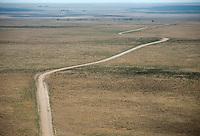 Road through eastern Colorado plains. May 2014. 83932