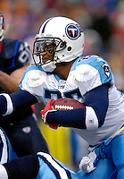 24 December 2006: Tennessee Titans running back LenDale White (25) in action against the Buffalo Bills at Ralph Wilson Stadium in Orchard Park, New York. The Titans edged out the Bills 30-29.&#xA; &#xA;Mandatory Photo Credit: Ed Wolfstein Photo<br />