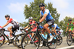 The peloton including Ruben Plaza (ESP) Israel Cycling Academy action during the 99th edition of Milan-Turin 2018, running 200km from Magenta Milan to Superga Basilica Turin, Italy. 10th October 2018.<br /> Picture: Eoin Clarke | Cyclefile<br /> <br /> <br /> All photos usage must carry mandatory copyright credit (© Cyclefile | Eoin Clarke)