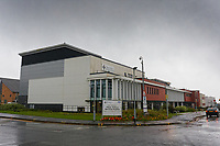 Exterior view of the Morriston Hospital in Swansea, Wales, UK. Monday 23 September 2019