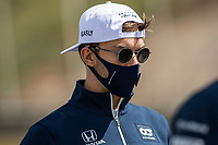 29th April 2021; Algarve International Circuit, in Portimao, Portugal; F1 Grand Prix of Portugal, driver and team arrival and inspection day;  GASLY Pierre (fra), Scuderia AlphaTauri Honda AT02