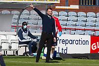 24th April 2021; Dens Park, Dundee, Scotland; Scottish Championship Football, Dundee FC versus Raith Rovers; Dundee manager James McPake