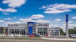 White Allen Honda Dealership building