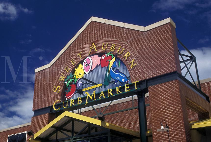 Atlanta, GA, Georgia, Sweet Auburn Curb Market in downtown Atlanta.