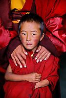 Monks at Zunya Monastery in Kham, Tibet 2006