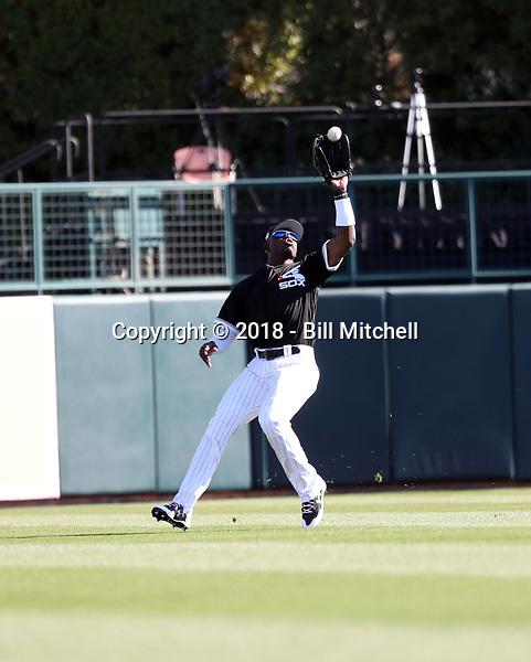 Luis Robert - Chicago White Sox 2018 spring training (Bill Mitchell)