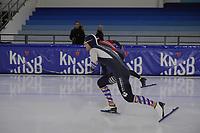 SCHAATSEN: HEERENVEEN: 21-12-2019, IJsstadion Thialf, KNSB trainingswedstrijd, ©foto Martin de Jong