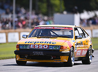 9th July 2021;  Goodwood  House, Chichester, England; Goodwood Festival of Speed; Day Two; Ken Clarke drives a Rover SDI Vitesse (HEPOLITE) in the Goodwood Hill Climb