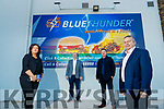 Joanne Byrne, Eamonn Dalton, Michael Dalton and Tom Connolly, at the opening of Blue Thunder food outlet in Corrib oil service station in Tralee.