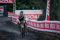 CX world champion Mathieu Van der Poel (NED/Alpecin-Fenix)<br /> <br /> UCI Cyclocross World Cup Namur 2020 (BEL)<br /> <br /> ©kramon