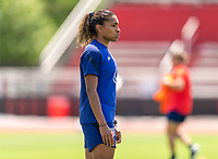 HOUSTON, TX - JUNE 8: Catarina Macario #11 of the USWNT looks to the ball during a training session at the University of Houston on June 8, 2021 in Houston, Texas.