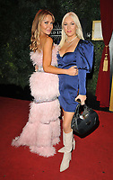 Lizzie Cundy and Amelia Mist at the PINK London 2021 annual charity fundraiser, Proud Embankment, 8 Victoria Embankment, on Wednesday 06th October 2021 in London, England, UK. <br /> CAP/CAN<br /> ©CAN/Capital Pictures