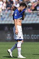 Maya Yoshida of UC Sampdoria reacts during the Serie A football match between UC Sampdoria and FC Internazionale at stadio Marassi in Genova (Italy), September 12th, 2021. Photo Image Sport / Insidefoto