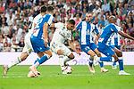 Real Madrid Carlos Henrique Casemiro during La Liga match between Real Madrid and RCD Espanyol at Santiago Bernabeu Stadium in Madrid, Spain. September 22, 2018. (ALTERPHOTOS/Borja B.Hojas)