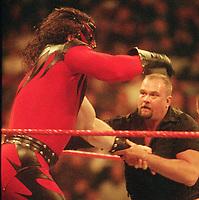 Kane  Big Boss Man 1997                                                           Photo By John Barrett/PHOTOlink