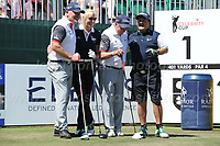 Team Wales and Team Ireland during the Bulmers 2018 Celebrity Cup at the Celtic Manor Resort. Newport, Gwent,  Wales, on Saturday 30th June 2018<br /> <br /> <br /> Jeff Thomas Photography -  www.jaypics.photoshelter.com - <br /> e-mail swansea1001@hotmail.co.uk -<br /> Mob: 07837 386244 -