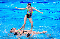 Artistic Swimming<br /> Gala<br /> UKR UKRAINE<br /> ALEKSIIVA Maryna<br /> ALEKSIIVA Vladyslava<br /> FIEDINA Marta<br /> HRYSHKO Veronika<br /> NOSOVA Anna<br /> REZNIK Kateryna<br /> SAVCHUK Anastasiya<br /> SHYNKARENKO Alina<br /> SYDORENKO Kseniya<br /> YAKHNO Yelyzaveta<br /> DEREVIANCHENKO Olesia<br /> MATSIIEVSKA Sofiia<br /> XXXV LEN European Aquatic Championships<br /> Duna Arena<br /> Budapest  - Hungary  11/5/2021<br /> Photo Pasquale Francesco Mesiano / Deepbluemedia / Insidefoto