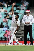 7th January 2021; Sydney Cricket Ground, Sydney, New South Wales, Australia; International Test Cricket, Third Test Day One, Australia versus India; Ravichandran Ashwin of India bowling