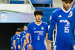 Ulsan Hyundai Midfielder Jeong Jae Yong getting into the field during the AFC Champions League 2017 Group E match between Ulsan Hyundai FC (KOR) vs Brisbane Roar (AUS) at the Ulsan Munsu Football Stadium on 28 February 2017 in Ulsan, South Korea. Photo by Victor Fraile / Power Sport Images