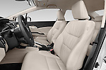 Front seat view of a 2015 Honda Civic CNG 4 Door Sedan front seat car photos