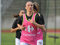 Football Club Feminin Juvisy Essonne - Olympique Lyon :.Gaetane Thiney.foto DAVID CATRY / JOKE VUYLSTEKE / Vrouwenteam.be