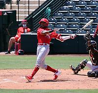 Alexander Ramirez - Los Angeles Angels 2021 extended spring training (Bill Mitchell)