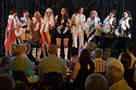 12/06/15<br /> <br /> Abbarettes - (L to R) Nuala Welsh, Sam Harrison, Lesley Hawkes, Lyndsey Miles, Linda Perry Smith, Helen Craven, Rona Myatt, Sally Archer, Becky Kimber.<br /> <br /> Clifton Village Cabaret Night - fundraising event for Clifton School and Church held in Clifton Village Hall on Friday 12th June.<br /> <br /> The event raised £1,140.<br /> <br /> All Rights Reserved: F Stop Press Ltd. +44(0)1335 418365 www.fstoppress.com.