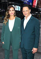 NEW YORK, NY - MAY 5: Jessica Alba Founder and Nick Vlahos CEO of The Honest Company rings the Opening Bell at Nasdaq in New York City on May 05, 2021. <br /> CAP/MPI/RW<br /> ©RW/MPI/Capital Pictures