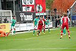 17.10.2020, Schwarzwald Stadion, Freiburg, GER, 1.FBL, SC Freiburg vs SV Werder Bremen<br /> <br /> im Bild / picture shows<br /> Philipp Lienhart (Freiburg) erzielt das Tor zum 1:0<br /> <br /> Foto © nordphoto / Bratic<br /> <br /> DFL REGULATIONS PROHIBIT ANY USE OF PHOTOGRAPHS AS IMAGE SEQUENCES AND/OR QUASI-VIDEO.