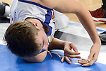 Real Madrid's player Luka Doncic injured during match of Turkish Airlines Euroleague at Barclaycard Center in Madrid. November 24, Spain. 2016. (ALTERPHOTOS/BorjaB.Hojas)