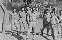 Iraq 1985 Iranian soldiers in Kurdistan near the Iranian border<br /> Irak 1985  Soldats iraniens au Kurdistan pres de la frontiere iranienne