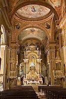 Cuba, Havana.  Church of La Merced Altar.