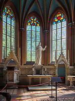 In der Schlosskirche, Welfen  - Schloss Marienburg bei Pattensen, Niedersachsen, Deutschland, Europa<br /> inside the castle church, Castle oft he Welfs near Pattensen , Lower Saxony, Germany, Europe