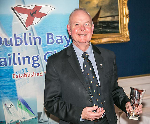 Pat Shannon, former Commodore and prize winner with Dublin Bay SC, is currently Commodore of the Royal Irish YC