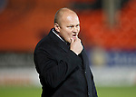 Dundee United v St Johnstone....21.11.15  SPFL,  Tannadice, Dundee<br /> Mixu Paatelainen in a thoughtful pose<br /> Picture by Graeme Hart.<br /> Copyright Perthshire Picture Agency<br /> Tel: 01738 623350  Mobile: 07990 594431