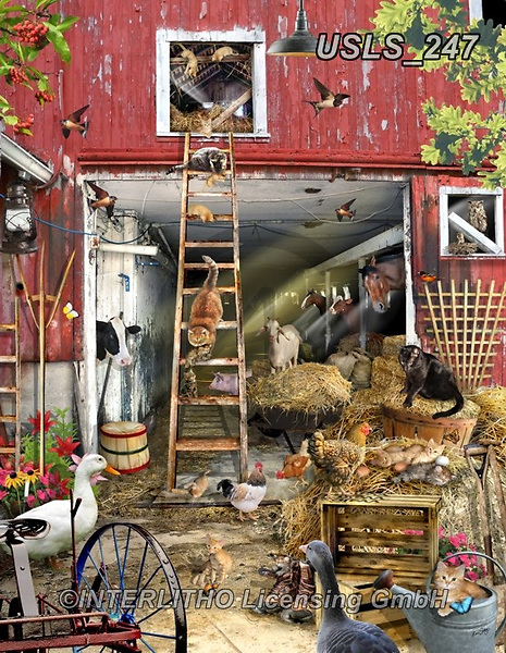 Lori, LANDSCAPES, LANDSCHAFTEN, PAISAJES, paintings+++++Moving Day_new_11_72,USLS247,#l#, EVERYDAY ,puzzle,puzzles