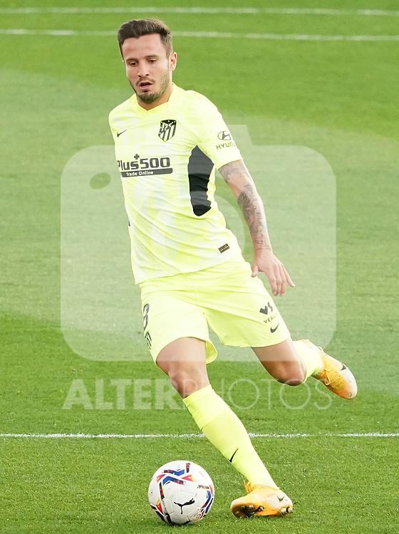 Atletico de Madrid's Saul Niguez during La Liga match. September 30,2020. (ALTERPHOTOS/Acero)
