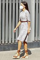 JUL 22 Queen Letizia of Spain at Spanish Association Against Cancer