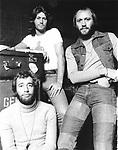 Bee Gees 1976 Barry Gibb, Maurice Gibb and Robin Gibb.© Chris Walter.