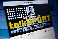 Wednesday 22 January 2014<br /> Pictured: Stan Collymore's twitter account front page<br /> Re: Former footballer Stan Collymore has accused Twitter of not doing enough to combat abusive messages after he was targeted by internet trolls. The broadcaster has retweeted some of the offensive messages he has received since he suggested Liverpool striker Luis Suarez dived to earn a penalty in Saturday's match against Aston Villa.