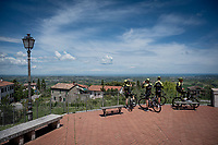 Team Mitchelton-Scott restday training ride aka 'coffee ride'<br /> <br /> restday 1 (20 may) of the 102nd Giro d'Italia 2019<br /> <br /> ©kramon