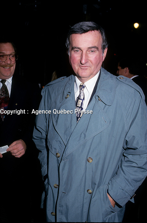 Pierre Bourque en 1995<br /> (il fut maire de Montreal de 1995 a 2001)