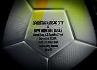 Kansas City, KS - Wednesday September 20, 2017: NIKE 2017 U.S. Open Cup Final game ball during the 2017 U.S. Open Cup Final Championship game between Sporting Kansas City and the New York Red Bulls at Children's Mercy Park.