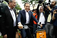 30.01.2018 - Doria inaugura Bike Sampa no Largo da Batata em SP