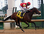 September 06, 2014:  Cristina's Journey wins the 46th running of the G2 Pocahontas Stakes with jockey Miguel Mena.  She is owned by GSN Racing and trained by Dale Romans. ©Mary M. Meek/ESW/CSM