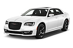 2021 Chrysler 300 S 4 Door Sedan Angular Front automotive stock photos of front three quarter view