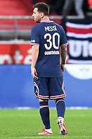30 LIONEL LEO MESSI (PSG) - DOS<br /> Reims 29/08/2021 <br /> Reims Vs Paris Saint Germain <br /> Football Ligue 1 2021/2022<br /> Photo Philippe Lecoeur/Panoramic/insidefoto <br /> ITALY ONLY