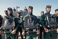 - training of special unit COMSUBIN at Cape Teulada military polygon in Sardinia....- addestramento del reparto speciale COMSUBIN (Comando Subacquei Incursori) nel poligono militare di Capo Teulada in Sardegna..